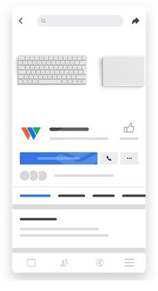 Пример разработки дизайна сайта компании